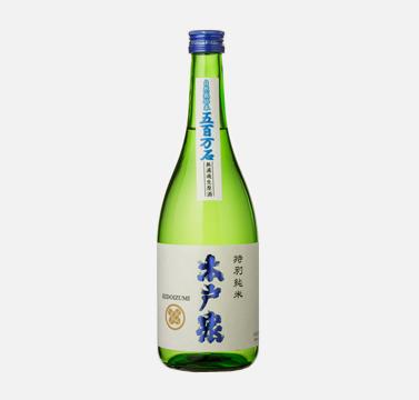 木戸泉 岩手県産自然米 特別純米 無濾過生原酒 720ml