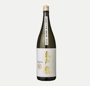 木戸泉 埼玉県産自然米 特別純米 無濾過生原酒 1.8L